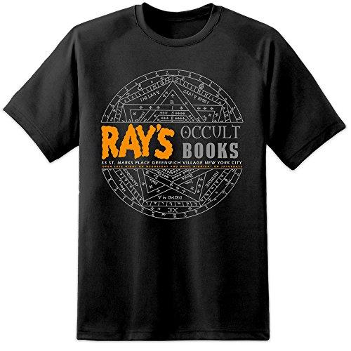 Digital Pharaoh - Schwarz Herren Rays Occult Ghostbusters 2 Film T Shirt (2XL)
