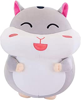 Stuffed Animal Hamster Small Super Soft Plush Toy Pillow Pet Animal Pillow Pal Buddy Stuffed Animal Child Girl Baby Accompany Sleeping Animal Soft Toys Gift Easy to Clean 9.8