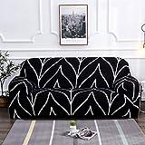 WXQY Sala de Estar elástica Funda de sofá elástica combinación Antideslizante Todo Incluido Funda de sofá protección para Mascotas Funda de sofá A5 3 plazas