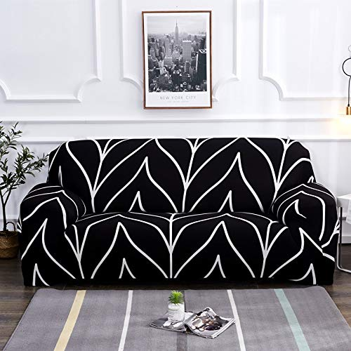 Fundas de sofá elásticas para Living Roon It Needs Ordene 2 Piezas Funda de Silla de sofá si su sofá es seccional de Esquina Longue en Forma de L A18 1 Plaza