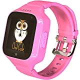 3G GPS Tracker Best Waterproof Wrist Smart Phone Watch for Kids with Sim Slot Camera Anti Lost Fitness Tracker Birthday Holiday for Children Girls Boys iPhone Android Smartphone