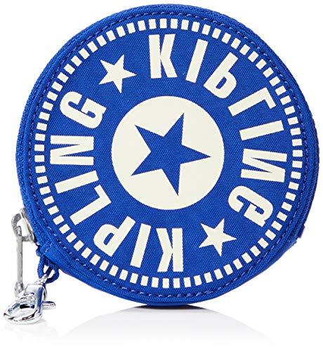 Kipling Marguerite Nc - Porte Monnaie - Femme - Bleu (Laser Blue) - 10.5x10.5x1.5 Centimeters (B x H x T)