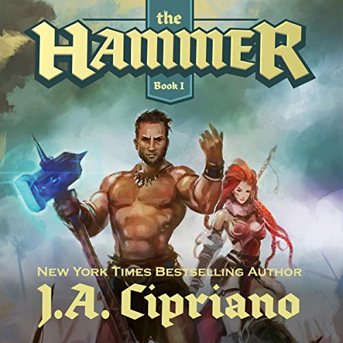 The Hammer: An Epic Fantasy Harem Adventure audiobook cover art