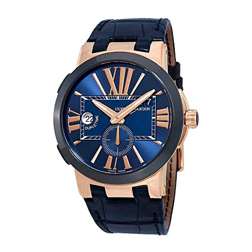 Ulysse Nardin Executive Dual Time Automatic Blue Dial Men's Watch 246-00/43
