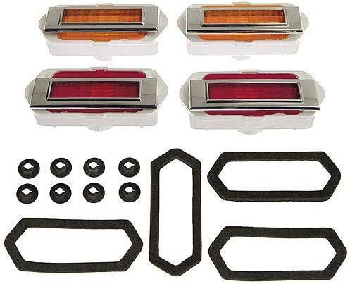Side Marker Lens Assembly - Front Max 62% OFF Rear Be Today's only Lamps Piece Set 20
