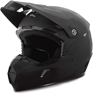 GMAX Unisex-Adult Full-face-Helmet-Style G3460456 Mx46 Flat Black lg (Large)