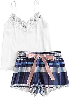 PJ /'S Femmes Ex-High Street en pur coton à manches longues Carreaux Pyjama Set