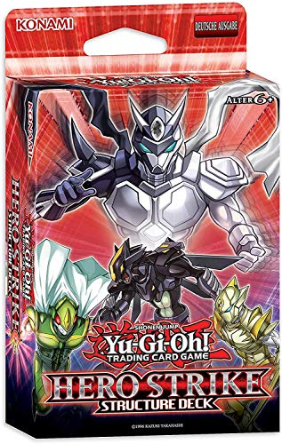 Lively Moments Yu-Gi-Oh! Karten Hero Strike Structure Deck DE Deutsch / Spielkarten / Sammelkarten Yu Gi Oh