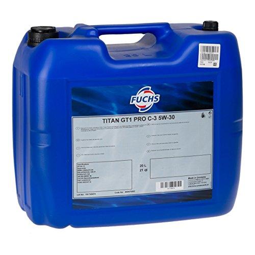 Oil-Drop Fuchs 5W-30 Titan GT1 Longlife Pro C-3 XTL - Motoröl 5W30 20 Liter