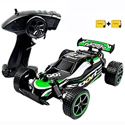 High Quality Material: Fixed with dozens of screws to ensure the rc car firm and durable; and with High-quality imported PVC materials which is super flexible; make the car more ruggedness and crashworthiness; With direction spinner in the bottom, ca...