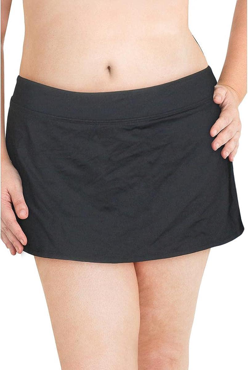 Anne Cole Plus - Classic Skirt Swim Bottom