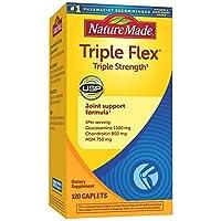 Nature Made - Triple Flex Triple Strength 120 Comprimés 海外直送品