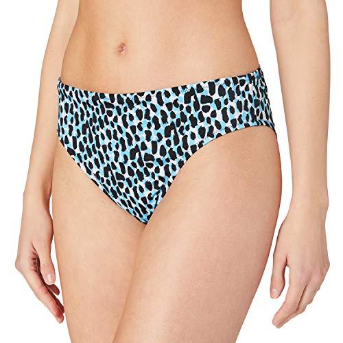 sloggi Shore KOH Tachai High Leg Bragas de Bikini, Blue - Dark Combination, M para Mujer