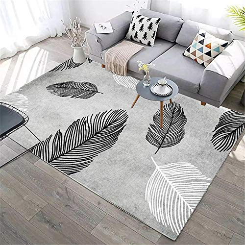 alfombras infantiles alfombras para bebé La alfombra gris es resistente a la suciedad, antideslizante y anticaída para la sala de estar y el dormitorio. alfombra infantil juvenil 60X90CM 1ft 11.6'X2ft
