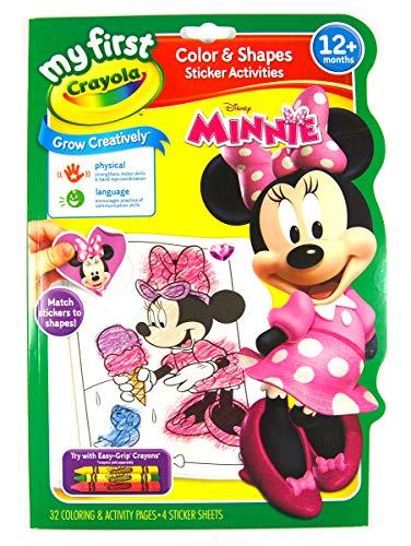 Minnie Crayola Activity Book (Color y Formas)