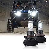 kemimoto Upgrade Ranger LED Head Light Bulbs,...