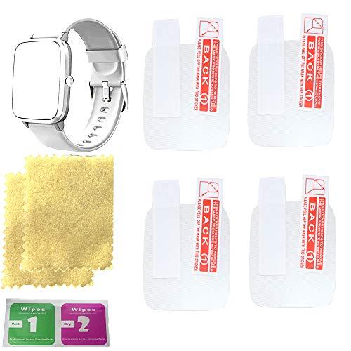 OCTelect Bildschirmschutzfolie für Willful smart watch Bildschirmschutzfolien mit 4 Stück in einer Packung