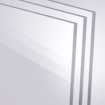 500 x 600 mm B/&T Metall PMMA Acrylglas Opal Wei/ß glatt 3,0 mm stark Milchglas Lichtdurchl/ässigkeit 78/% UV best/ändig beidseitig foliert im Zuschnitt Gr/ö/ße 50 x 60 cm