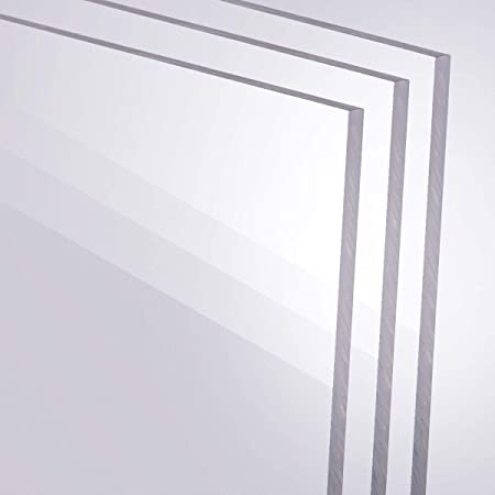 250 x 250 mm B/&T Metall PMMA Acrylglas Opal Wei/ß glatt 3,0 mm stark Milchglas Lichtdurchl/ässigkeit 78/% UV best/ändig beidseitig foliert im Zuschnitt Gr/ö/ße 25 x 25 cm