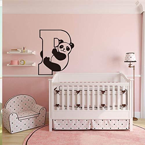 Diy Cute Panda Wall Sticker Art Nursery Buy Online In India At Desertcart