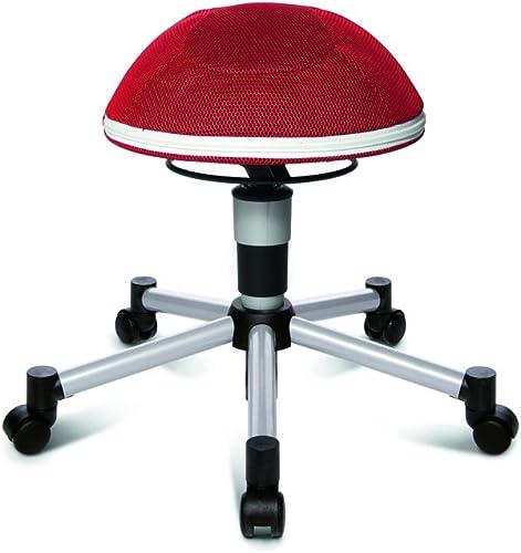 Topstar Sitness Half Ball Junior - Farbe  rot - Teppichbodenrollen
