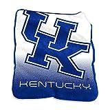 Logo Brands NCAA Kentucky Wildcats Raschel Throw, One Size, Team Color