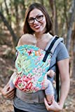 Tula Ergonomic Carrier, Bliss Bouquet-Standard Size(Baby), 15-45 pounds