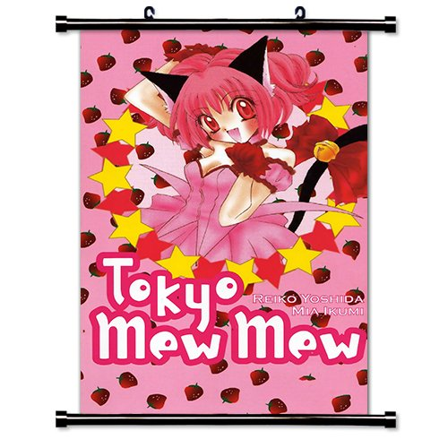 Tokyo Mew Mew Anime Fabric Wall Scroll Poster (16' x 25') Inches. [WP]-Tokyo Mew-17