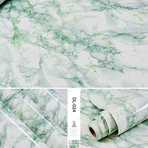 Rollo de papel tapiz de vinilo de mármol autoadhesivo para muebles, película decorativa, pegatinas de pared impermeables, protector contra salpicaduras de cocina, decoración del hogar, 3mx40cm DL-024