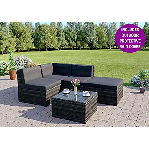 Outstanding Corner Garden Furniture Amazon Co Uk Interior Design Ideas Gentotryabchikinfo