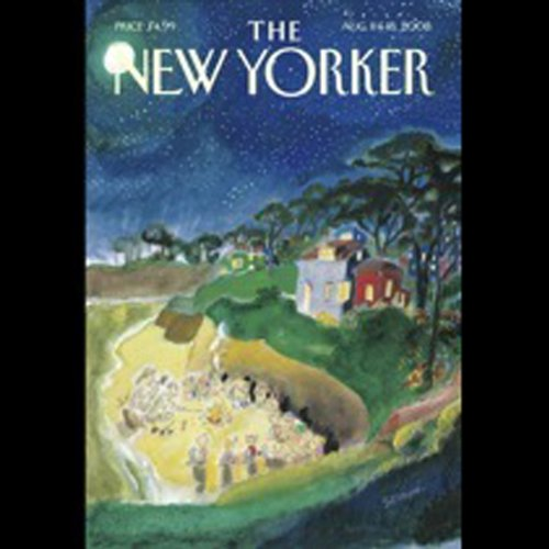 The New Yorker, August 11 & 18, 2008 audiobook cover art
