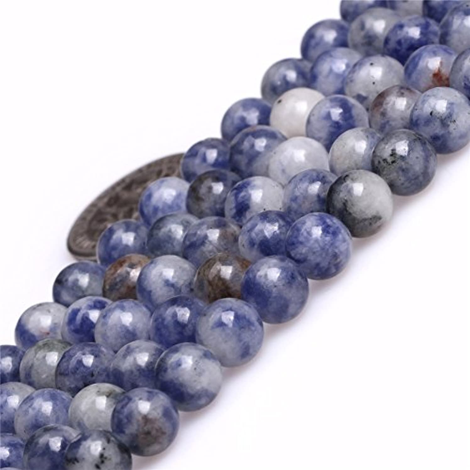 Sodalite Beads for Jewelry Making Natural Gemstone Semi Precious 6mm Round 15