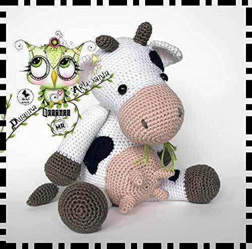 Amigurumi Vaca no Elo7   Patys Crocheteria (7A3500)   495x500