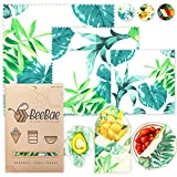 BEEBAE BEESWAX FOOD WRAP Easy Pack, Zero Waste, Reusable Beeswax Wrap, Eco Friendly, Organic, Bees Wax Food Storage Wrappers Cling Sandwich, Alternative To Plastic Bags, Sustainable Products