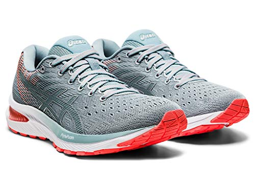 ASICS Women's Gel-Cumulus 22 Running Shoes, 8M, Piedmont Grey/Light Steel