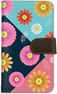 seventwo Galaxy Feel SC-04J スマホケース 手帳型 携帯ケース カードホルダー ギャラクシー フィール 【A】 花柄 花びら flower_164