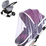 2 Pack Baby Mosquito Net for Strollers Carriers Car Seats Cradles, Portable...