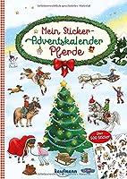 Mein Sticker-Adventskalender: Pferde - Ueber 500 Sticker + Stickerheft-Adventskalender