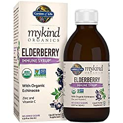 Elderberry herb to fight cold and flu virus