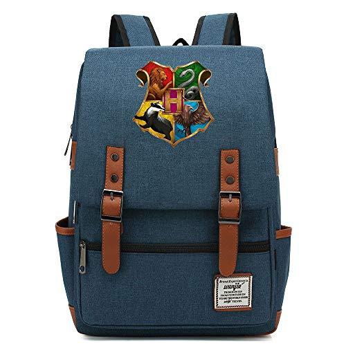 Harry P Hogwarts Daypack, Zaino scuola College per uomini donne bambini all'aperto Camping Escursioni Daypack 16 pollici. 21 Premere l'immagine della scheda a colori.
