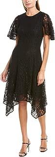 Womens A-Line Dress, 6, Black