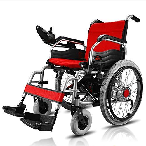 FC-LY Todos los terrenos de Servicio Pesado Potente Potente Dual Motor Plegable para sillas de Ruedas motorizadas motorizadas.