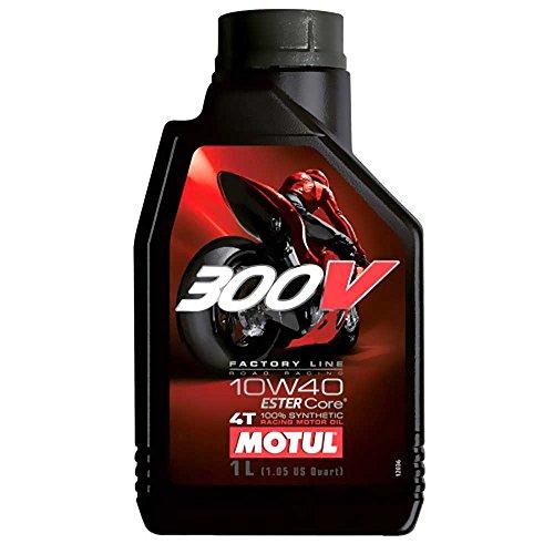 Motul Öl Motorrad 10W40 4t Syn 300v Fl Road Racing 1L 104118 3374650247564