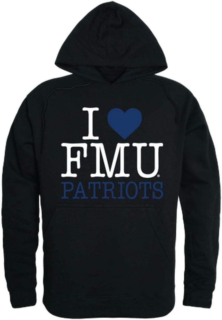 I Love FMU Francis Marion University Patriots Hoodie Sweatshirt