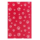 Best Pet Supplies Dog Poop Bags for Waste Refuse Cleanup, Doggy Roll Replacements for Outdoor Puppy Walking and Travel, Leak Proof and Tear Resistant, Thick Plastic - Red, 240 Bags (RD-240BT)