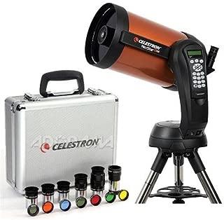 "Celestron NexStar 8 SE Schmidt-Cassegrain Computerized Telescope - with Deluxe Accessory Kit (5 Celestron Plossl Eyepieces, 1.25"" Barlow Lens, 1.25"" Filter Set, Accessory Carry Case"