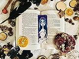 Marcapáginas Grande La Novia Cadáver Emily Tim Burton artesanal personalizado 17 x 5,5 cm con papel fotográfico de alta calidad plastificado lectores, bookworms, estudiantes, papelería patrón