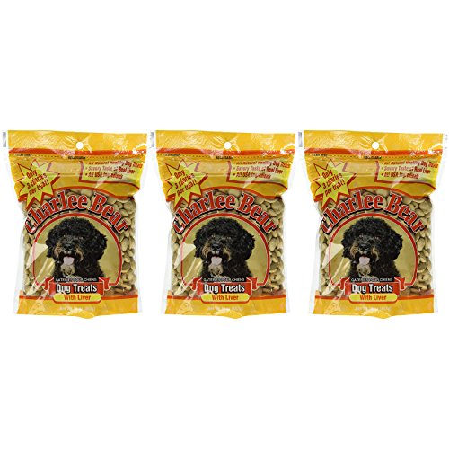Charlee Bear Dog Treats with Liver (3 Pack) 16 oz Each