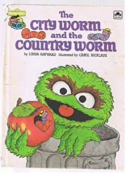 The city worm and the country worm - Book  of the Sesame Street Book Club