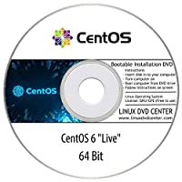 CentOS 6 Live (64Bit) - Bootable Linux Installation DVD